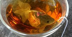 Goldfish-Shaped Tea Bags Turn An Ordinary Cup Of Tea Into A Surreal Indulgence
