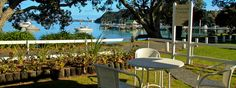 Hananui Bay Of Islands, Patio, Table Decorations, Outdoor Decor, Home, Ad Home, Homes, Haus, Dinner Table Decorations