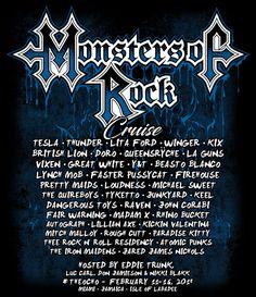 Monsters of Rock Cruise es ya un clásico de todos los años. Un crucero para disfrutar de las mejores bandas de rock de siempre.  Te pueden gustar o no los barcos, pero si te gusta el Rock sin duda en este pasarías un buen rato.         (adsbygoogle = window.adsbygoogle || []...