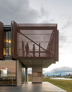 MAPA Architects have designed a single family residence, located near Porto Alegre, Brazil.