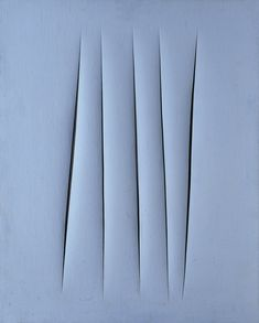 Lucio Fontana, 'Concetto Spaziale, Attese (Spatial Concept, Expectations),' 1967, Kunstmuseum Basel