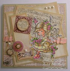 Scribblin' & Scrappin': Whimsy Stamps January Rubber and Die Release