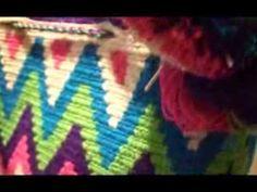 Como empezar mochila wayuu 1 (mas lento) - YouTube