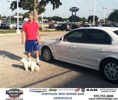 #HappyAnniversary to Charles Ray on your 2004 #Hyundai #Sonata from Ruben Cantu at Huffines Chrysler Jeep Dodge Ram Lewisville!