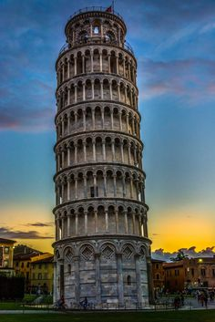 I have yet to see whether the Leaning Tower is sufficiently leaning or not.