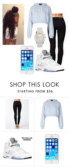 """Untitled #385"" by kaykay4life ❤ liked on Polyvore featuring Nudie Jeans Co., Topshop, Retrò and Michael Kors"