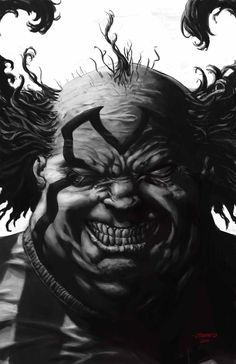 Clown, in johnny desjardins's Sketches and commissions Comic Art Gallery Room Comic Movies, Comic Books Art, Comic Art, Clown Horror, Creepy Clown, Spawn Clown, Spawn Comics, Clown Tattoo, 3d Chalk Art