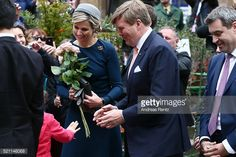 April 14, 2016 in Nuremberg, Germany. King Willem-Alexander and Queen Maxima are on a two-day visit in Bavaria - Day 2