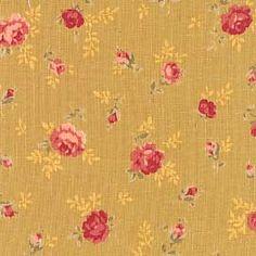 Reproduction Fabrics - mid 19th century, 1825-1865 > fabric line: Antique Rose