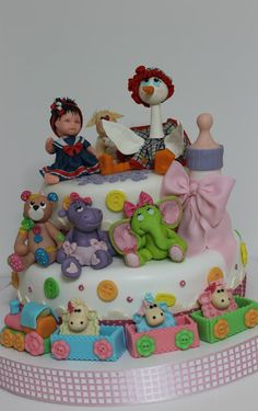 viorica's cakes: Tort botez Sophia Petra