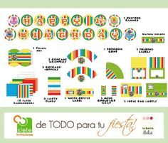 - 10% discount using our Coupon code: 10OFF + Backyardigans PRINTABLE Party kit Les Mélodilous O by labarradulce, $20.00