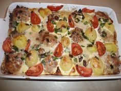 Polish Recipes, Polish Food, Hawaiian Pizza, Kitchen Recipes, Vegetable Pizza, Quiche, Clean Eating, Food And Drink, Favorite Recipes