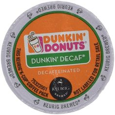 Dunkin Donuts Decaf Coffee K-Cups For Keurig K Cup Brewers (32 count) -- Amazing product just a click away at : Fresh Groceries