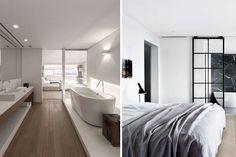 Baños integrados en el dormitorio