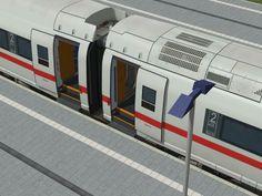 Hochgeschwindigkeitszug der Baureihe 407, ICE 3 Velaro D von Siemens