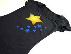 Kreatives T-Shirt Design mit Laserflex Material - gravier- und schneidbar mit dem Laser.