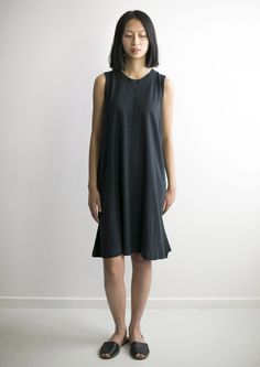 WOMENS HEMP JERSEY ALINE DRESS