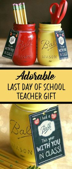 Holiday Treats For Coworkers Mason Jars 60 Super Ideas Back To School Gifts For Teachers, Presents For Teachers, Gifts For Kids, Teacher Appreciation Gifts, Teacher Gifts, Mason Jar Gifts, Mason Jars, Homeade Gifts, Teacher Gift Baskets