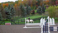 Outdoor Riding Arena