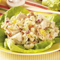 Garden Tuna Macaroni Salad - use low fat mayo
