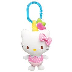Toyroyal X Hello Kitty Baby Stroller Attachment Car Seat Toy Plush Doll Sanrio Hello Kitty Car, Baby Cats, Baby Kitty, Plush Dolls, Life Skills, Sanrio, Your Child, Baby Strollers, Car Seats