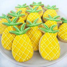 ... Pineapple Sugar Cookies ...