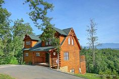 Absolutely Viewtiful cabin rental in Pigeon Forge,TN.  Each of the 3 bedrooms offers a King size bed, and the master suite has a walk-in shower. After a fun filled day, relax in front of the fireplace, or take in the outdoors from the hot tub on the deck. This cabin offers something for the entire family with the new theater room, a pool table, and a 124 game arcade! Absolutely Viewtiful Is conveniently located to all the area attractions, restaurants, and shopping in Pigeon Forge.