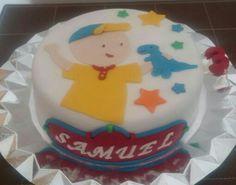 Tarta de Caillou para el tercer cumple de Samuel!!