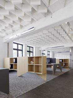 sound insulation and sound absorbing panel cube by carpet concept, Innenarchitektur ideen