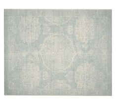 This is the rug I am going with!!Barret Printed Rug - Porcelain Blue #potterybarn