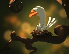 Goro Fujita Concept Art and Illustrations Art And Illustration, Character Illustration, Bg Design, Game Design, Concept Art World, 2d Art, Environmental Art, Creature Design, Cute Art