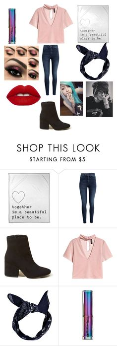 """A Date W/ Colby"" by blossom-galaxy666 on Polyvore featuring H&M, Hollister Co., Urban Decay and Lime Crime"