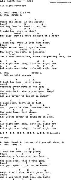 Is it alright now lyrics
