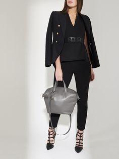 The Tactician Handbag - Grey Working Woman, Grey Leather, Pens, Lion, Essentials, Interiors, Handbags, Chic, Stylish