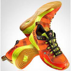 Salming Kobra Men's Indoor Shoes - Magma Red