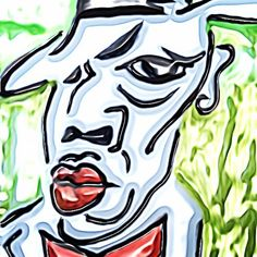Jay Z by Riz #riz #johnnyrizzocomic #cubism