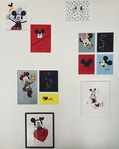 My art Mickey and Minnie❣️🌿☝🏻👨🏼🎨#mickeymouse #minniemouse #artwall #artwork #handmade #creativity #creative #creativephotography #budapest🇭🇺 #hungary Budapest Hungary, Creative Photography, Mickey Mouse, Creativity, Gallery Wall, My Arts, Frame, Artwork, Cards