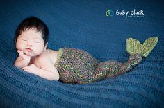 asian mermaid baby..