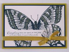 colour me happy: Di Barnes Stampin' Up! Swallowtail Butterfly card