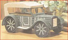 Everything Plastic Canvas | Classic Car Trinket Box Plastic Canvas PDF Pattern Digital Delivery ...