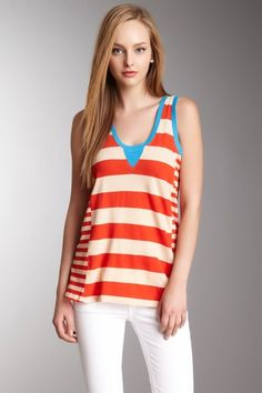 Taboo Stripe Top by French Connection on @HauteLook