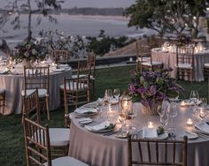 Imperial Villa Wedding Table Set Up
