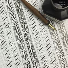 Flourishing Drills from Paper Bouquet Studio #calligraphy #pointedpen