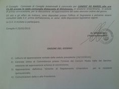 CAPITAN FUTURO: CRONACA CONSIGLIO COMUNALE DI COREGLIA, 02/03 GHIV...