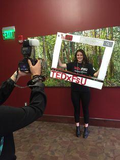 TEDx photo prop!