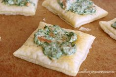 Smoked Salmon and Spinach Tarts
