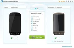 Transfer Contacts, SMS, Videos, Photos, Music from Android to HTC One - http://www.mobiletrans.org/android-to-htc-one.html