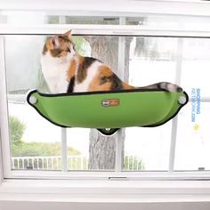 The Cat Hammock Bed is the Perfect bed for your cat! Cat's worldwide are going crazy over the window mounted cat hammock! With industrial strength suction cup Cat Window Bed, Cat Window Hammock, Hammock Bed, Rare Animals, Jungle Animals, Animals And Pets, Funny Animals, Doja Cat, Kitty Cats