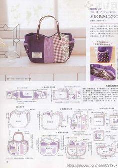 Lovely bags with  /// TUTORIAL DE BOLSA