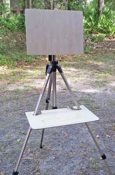 Plein Air Easel on a Slik U8000 tripod